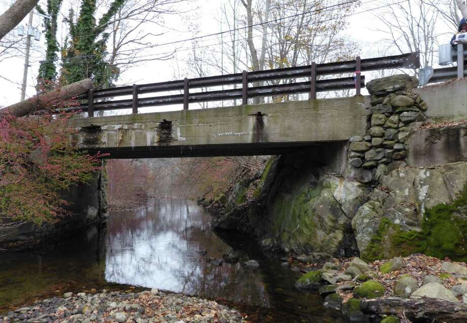 The west fascia of the Lovers Lane bridge over the Comstock Brook in Wilton. Photo: CME Associates / Contributed Photo / Wilton Bulletin Contributed