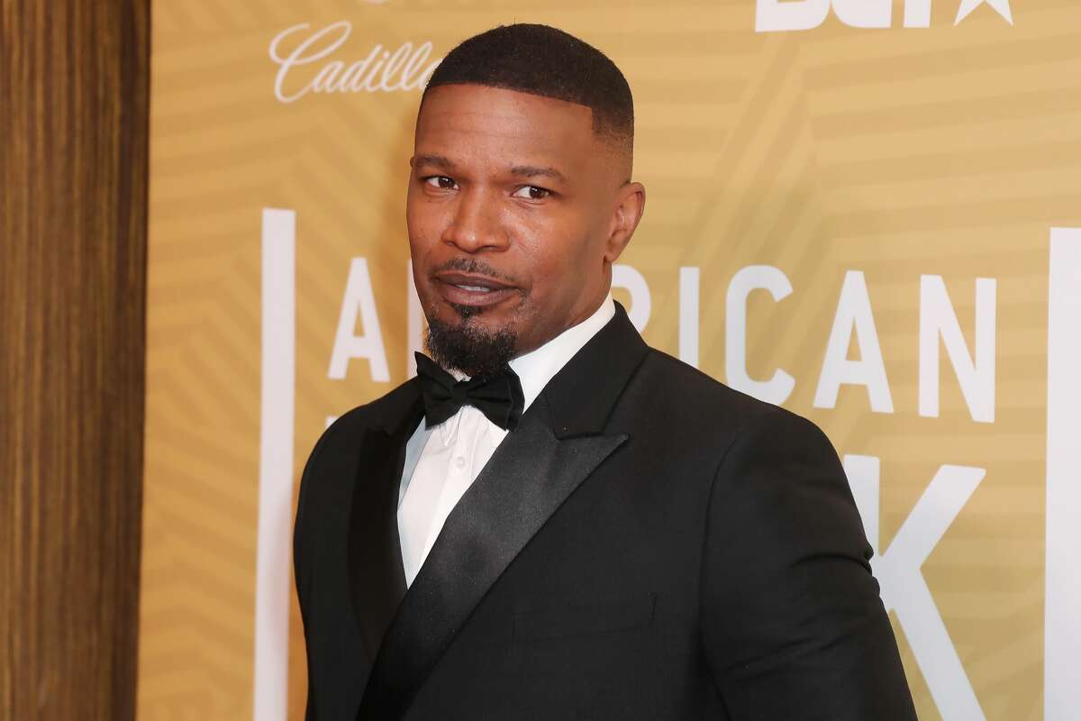 Jamie Foxx attends the American Black Film Festival Honors Awards Ceremony at The Beverly Hilton Hotel.