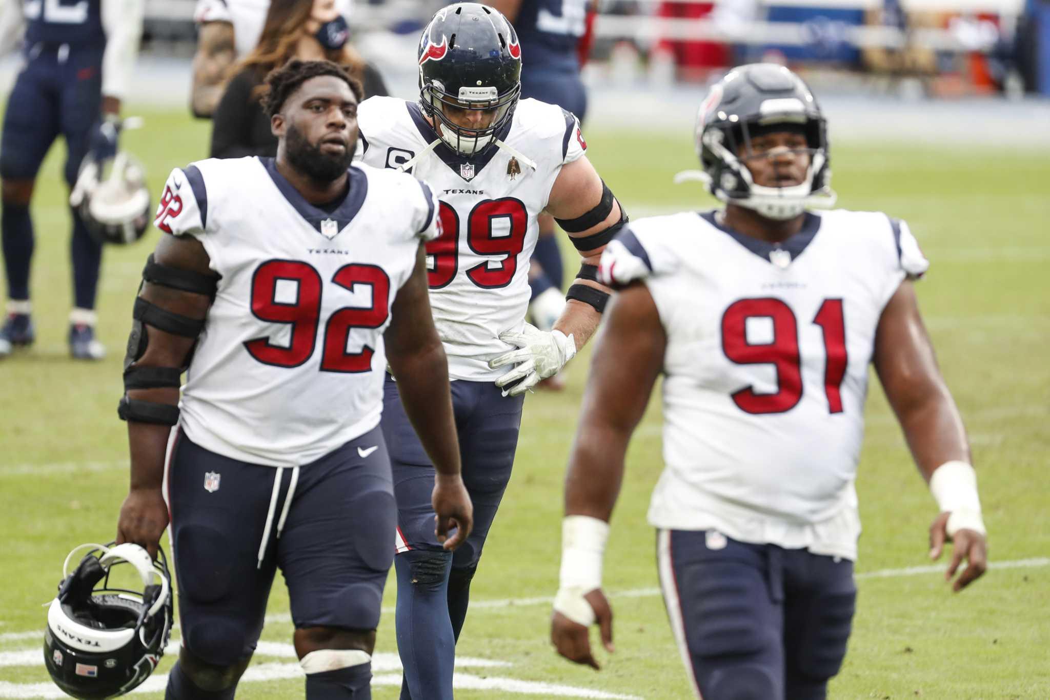 McClain: How Texans' run defense got so bad