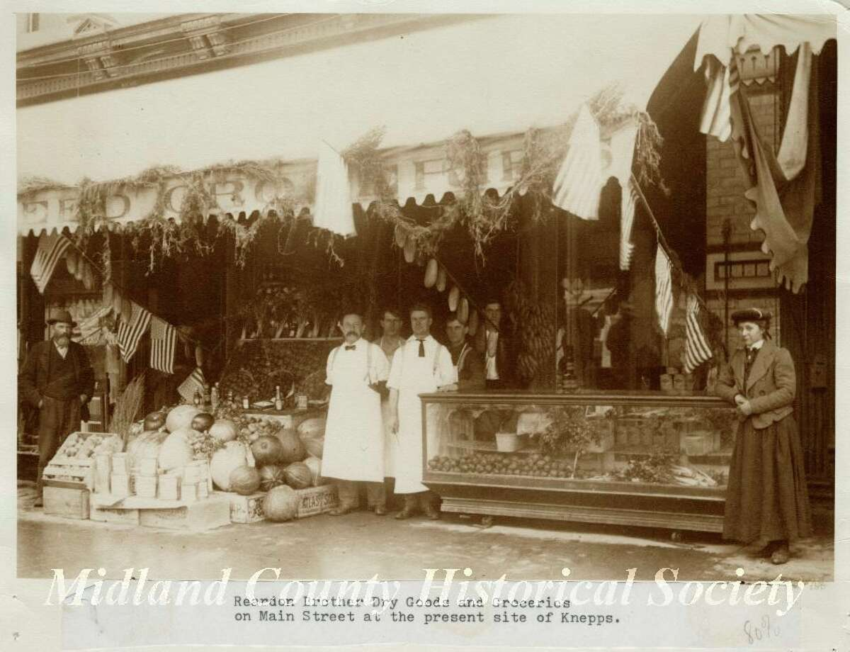 The Reardon storefront in the late 19th century. (Photo provided)