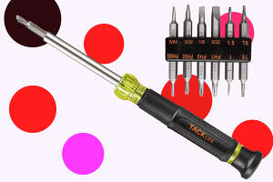 Screwdriver, 12-in-1 Precision Screwdriver with Exchangeable Industrial Strength Bits  for $4.99 at Amazon [Promo Code TAKHSS5A]
