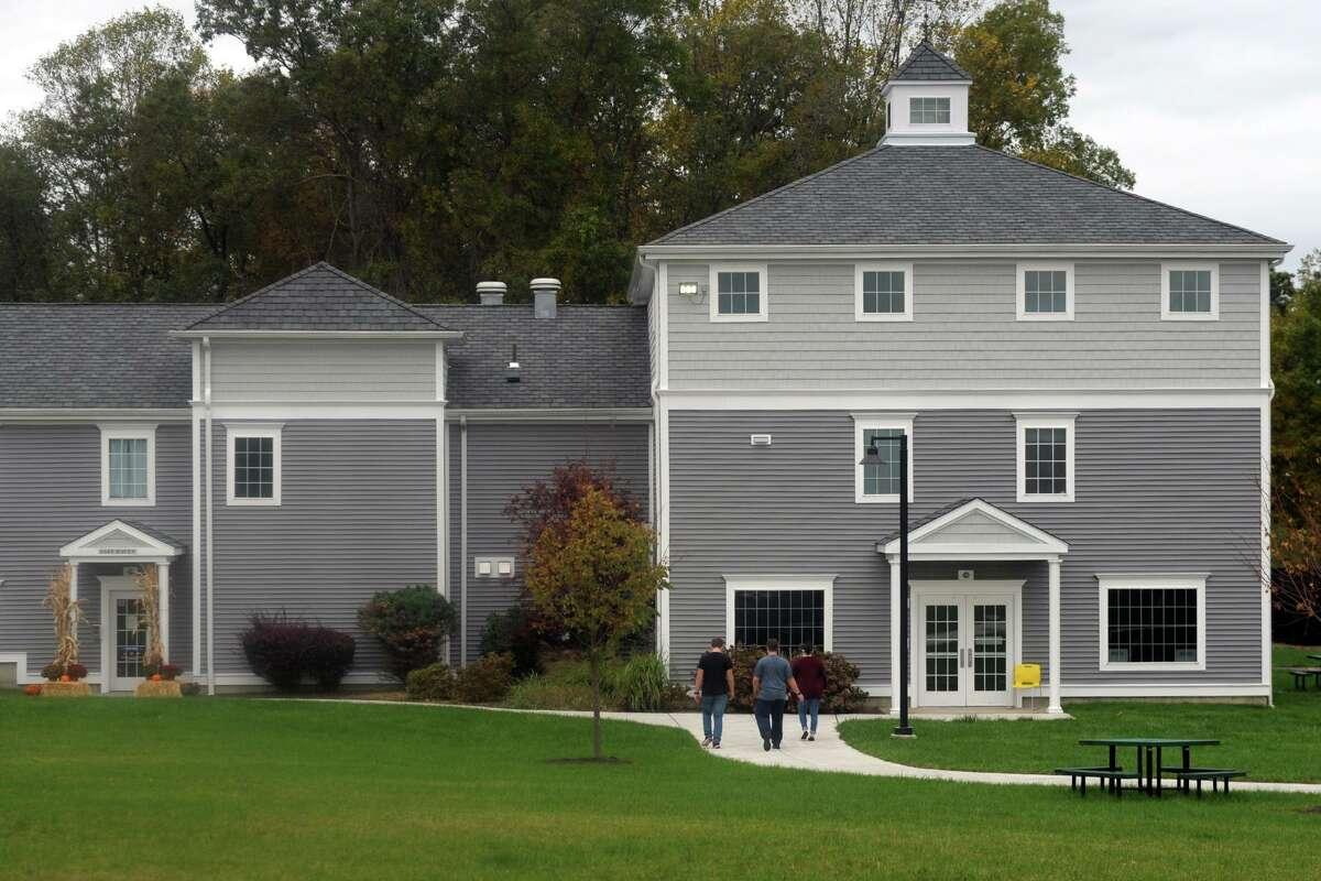 One of the newly renovated residence halls at Boys & Girls Village, in Milford, Conn. Oct. 16, 2020.