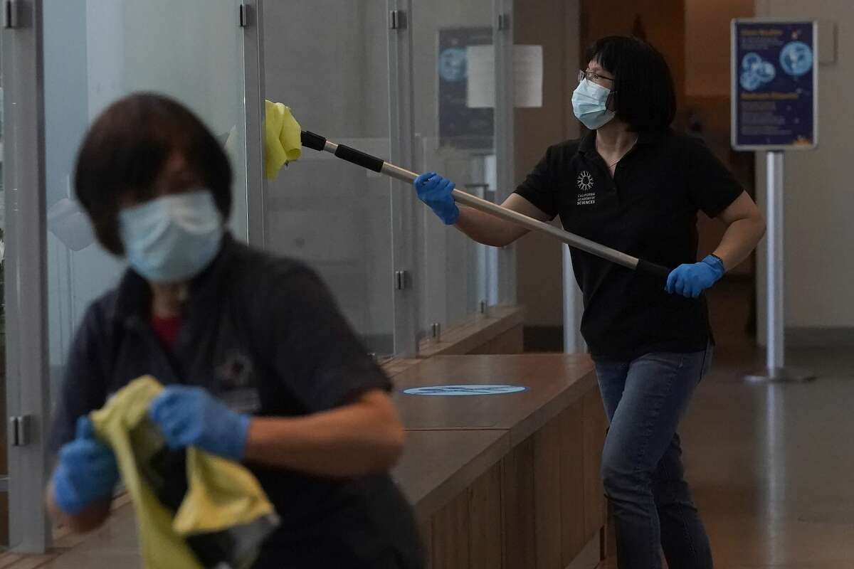 The museum has enhanced disinfecting procedures and increasing the airflow by using outside air when possible.