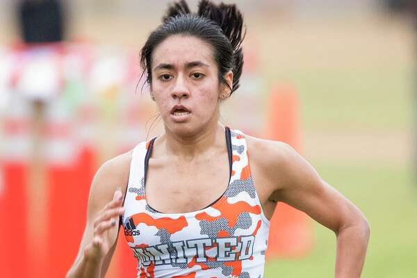 United's Valerie Garcia won the girls' individual title at the UISD cross country meet on Saturday.
