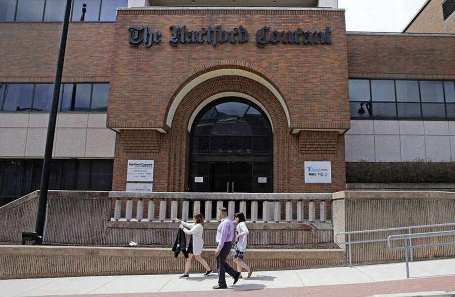 The Hartford Courant will shift its printing to Springfield, Mass. Photo: The Hartford Courant / TNS / Hartford Courant