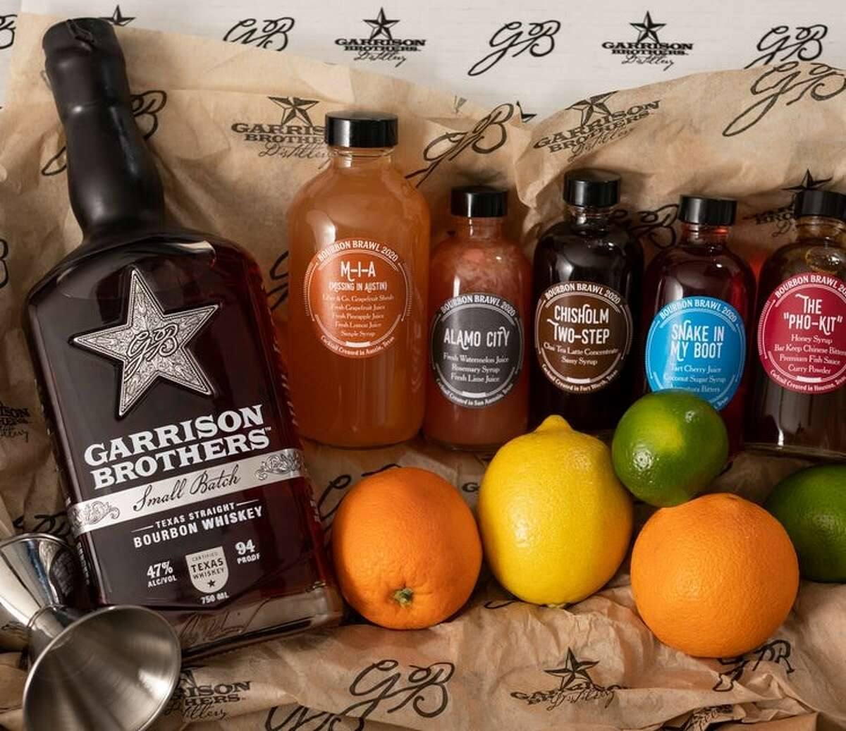 The 2020 Bourbon Brawl at-home cocktail kit will include the mix for the featured drinks.