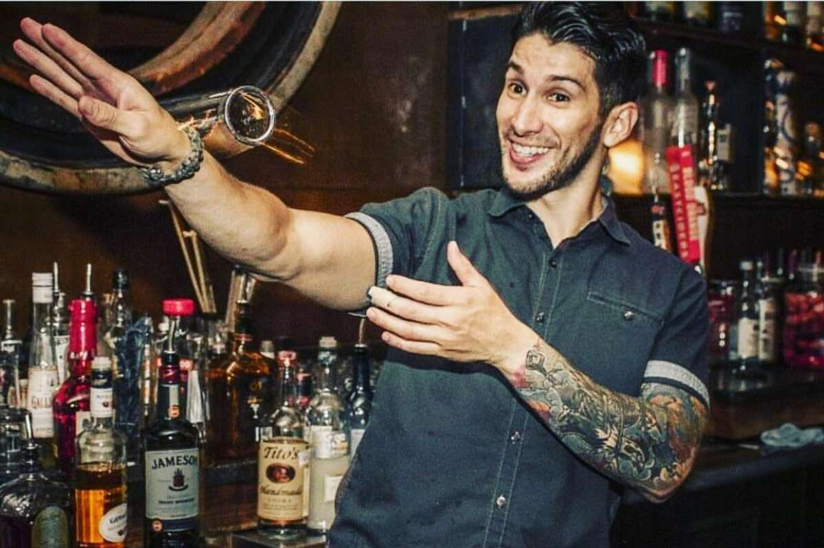 Cruz Gutierrez, lead bartender at Jet-Setter and Blue Box, is one of the five San Antonio bartenders competing.