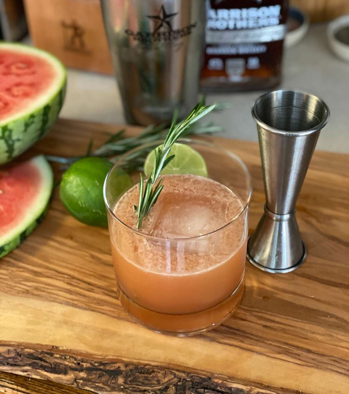 Five San Antonio bartenders created The Alamo City, a drink  for the 2020 Bourbon Brawl that will feature notes of fruit and rosemary.