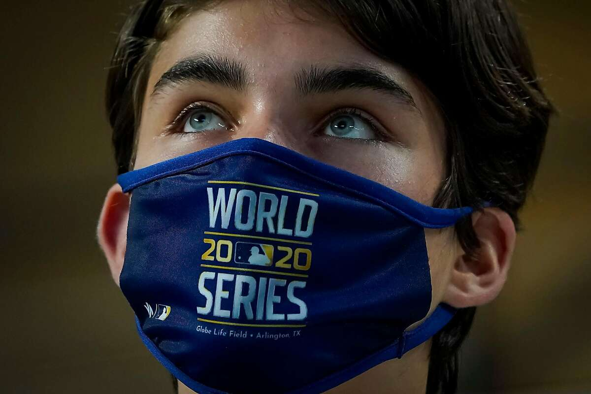The World Series, between the Rays and Dodgers, opens at 5 p.m. Tuesday in Arlington, Texas, with limited fans in attendance (Channels 2, 40/1050).