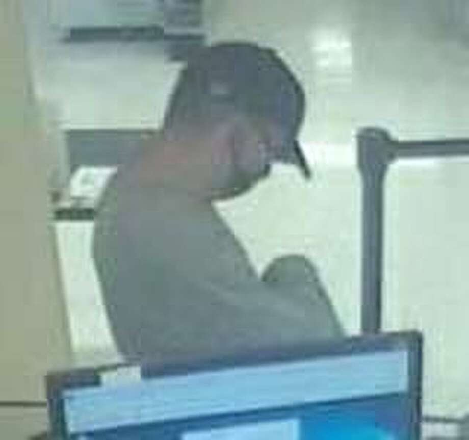 Police are looking for this individual wanted in connection with a reported robbery at People's United Bank on Lake Avenue Extension the morning of Oct. 19, 2020. Photo: Danbury Police Department