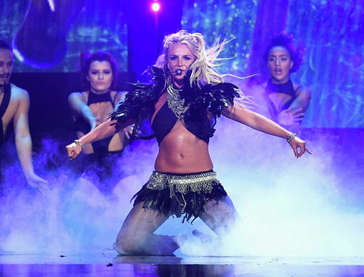 Louisiana : Britney Spears Our sweet, Britney, oh where to begin. Britney Spears grew up in Kentwood, Louisiana and was singing and dancing at the age of two. She quickly shed her Disney persona and became America's sweetheart gone bad girl with hits like