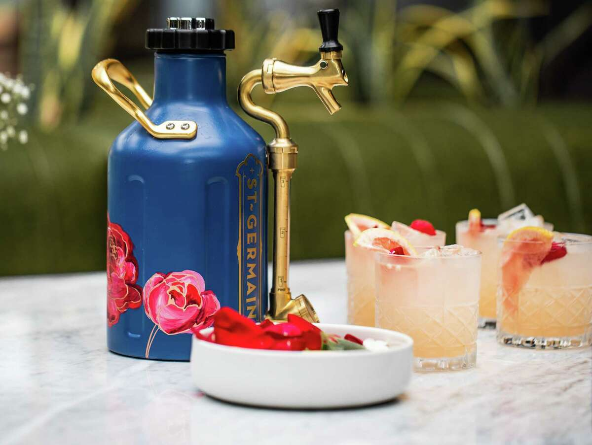 The Ladies Who Brunch, an oversized shared cocktail