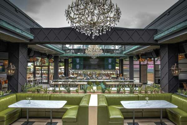 The owners of The Sugar room are opening a new dining and bar concept, The Sporting Club, at 5102 Washington. Shown: Interior.