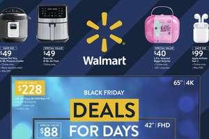 Walmart's Black Friday savings event begins Wednesday, November 4th