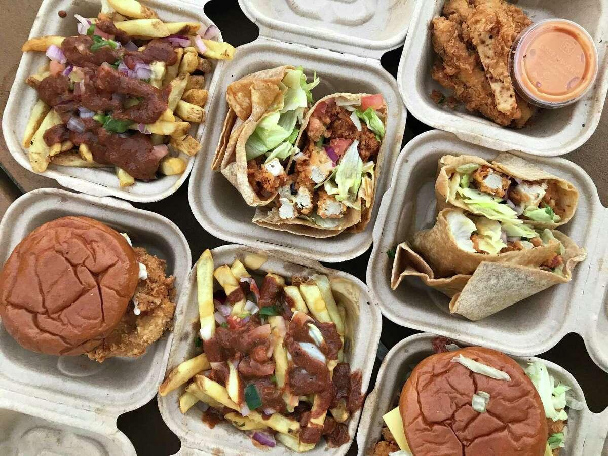 Project Pollo serves vegan fried