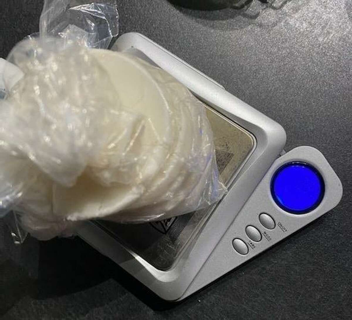 Following a traffic stop on Oct. 8 in New Caney, a Montgomery County Precinct 4 Constable's deputy found cocaine in the vehicle and on a passenger.
