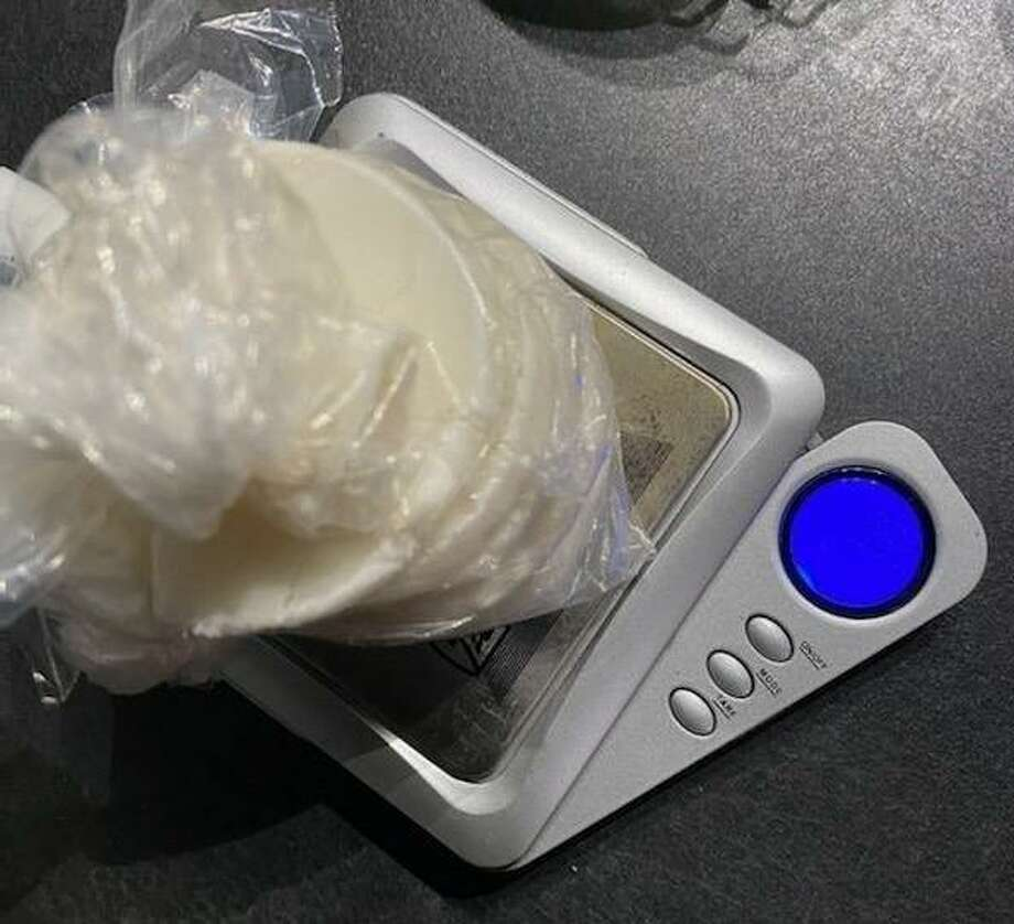 Following a traffic stop on Oct. 8 in New Caney, a Montgomery County Precinct 4 Constable's deputy found cocaine in the vehicle and on a passenger. Photo: Courtesy Of The Montgomery County Precinct 4 Constable's Office