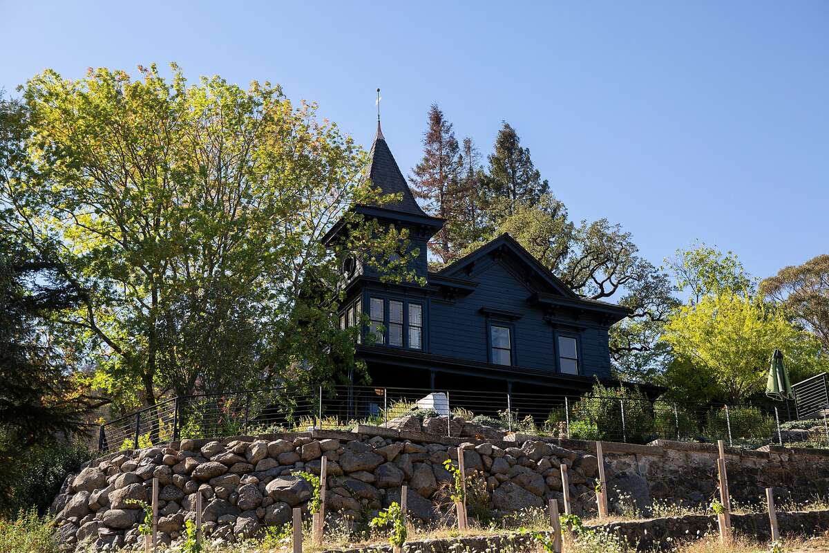 The Faust Haus in St. Helena, California.