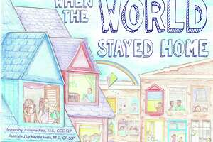 "Julianne Reis and Kaylee Veits recently published a children's book, ""When the World Stayed Home,"" about the coronavirus."