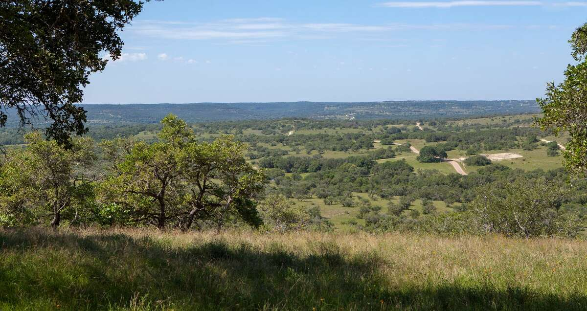 Red Oak Mountain located just down the road from Blanco, Texas, 30 minutes from historic Fredericksburg