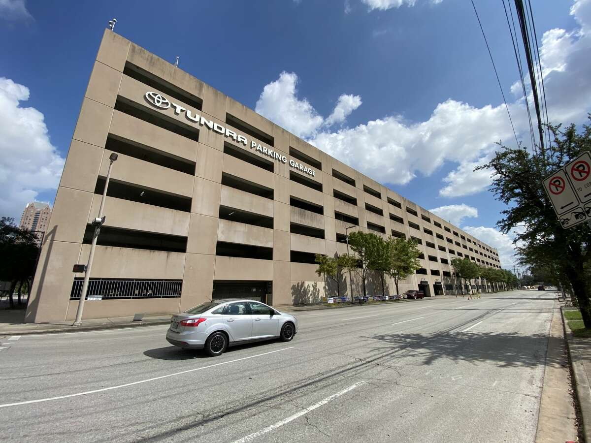 The Tundra Parking Garage, located at 1500 Leeland St. in Houston.