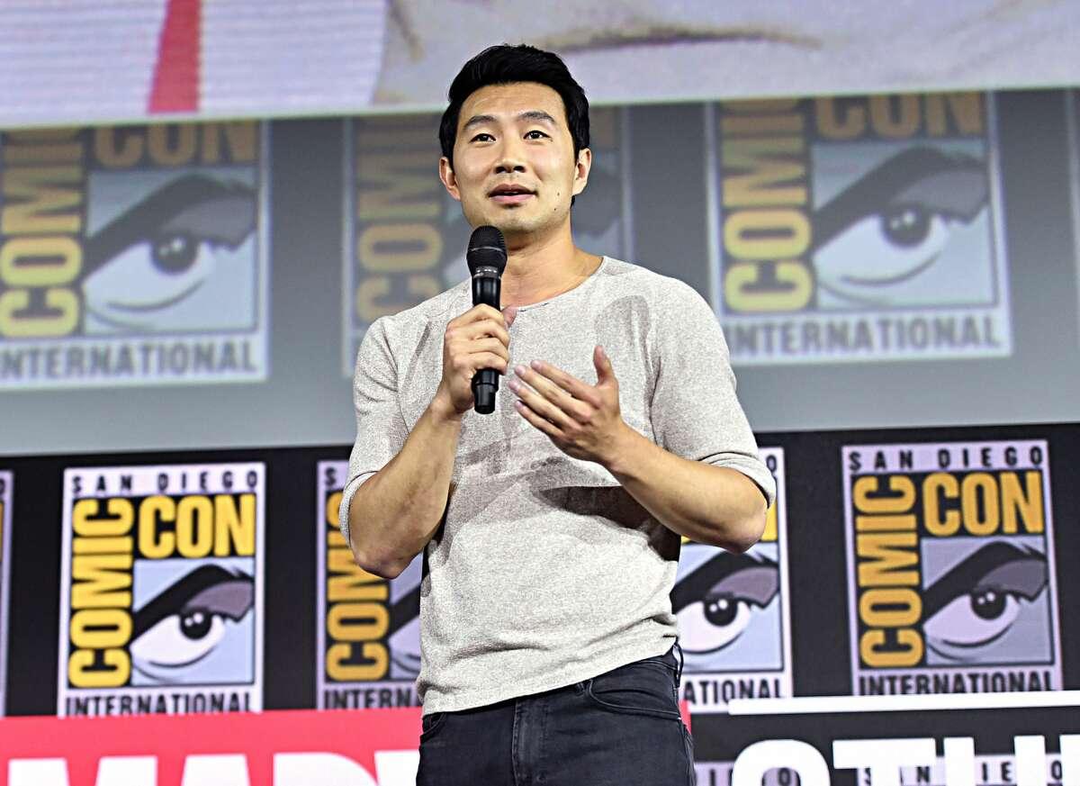 FILE - Simu Liu of Marvel Studios'