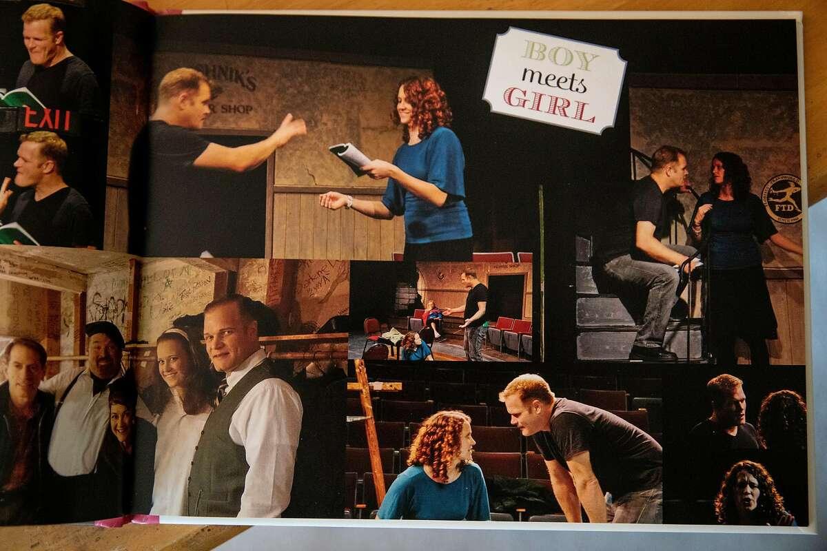 Becky Davis met her now-husband, Matt Davis, at an Altarena production. She saved photos from the performance.