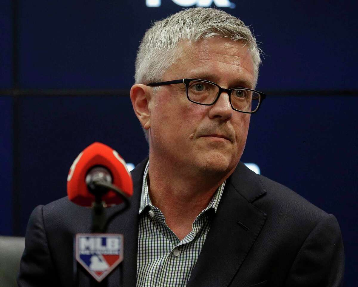 Houston Astros general manager Jeff Luhnow has sued the Astros for breach of contract over his firing after the sign-stealing scandal.