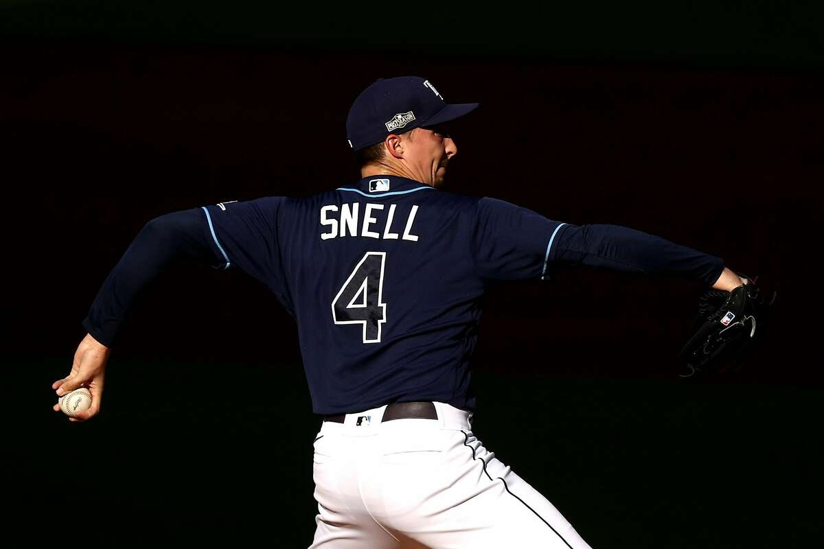 Rays starting pitcher Blake Snell is scheduled to face the Dodgers in Game 2 of the World Series at 5:08 p.m. Wednesday (FOX/1050).