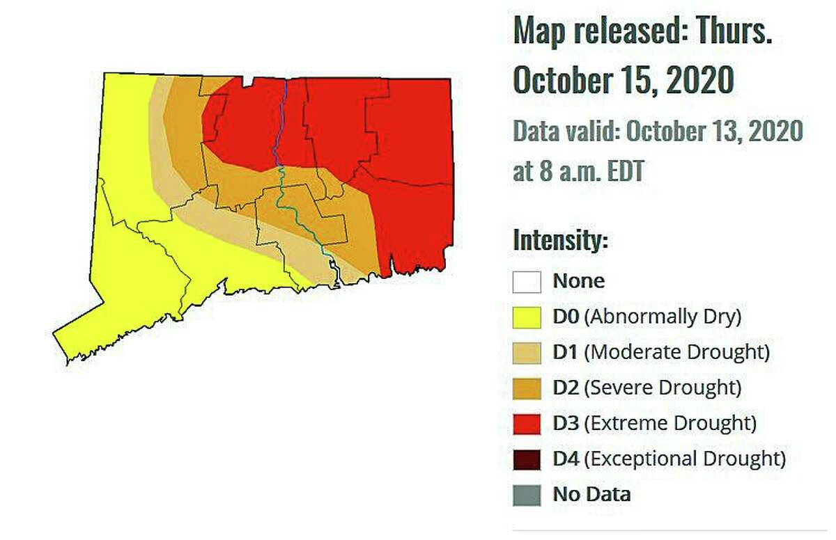 This is the latest update on Connecticut's drought by U.S. Drought Monitor.