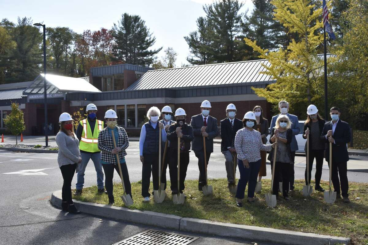 Guilderland Public Library officially kicks off their construction project on Oct. 15, anticipating completion in fall, 2021.