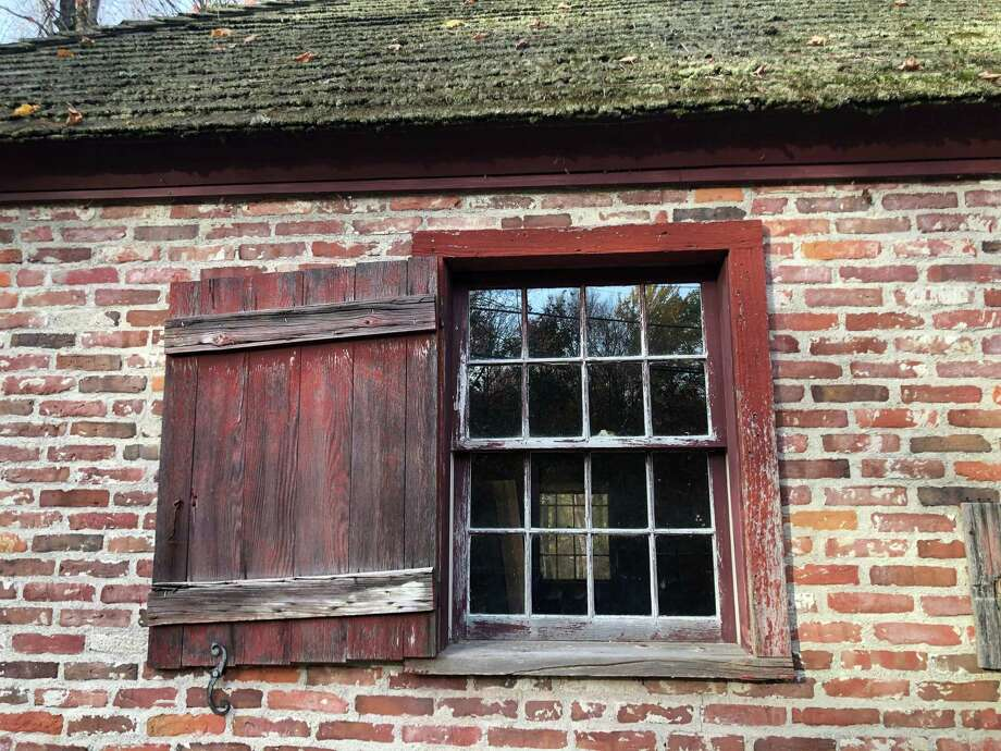 The windows of Brick School in Warren will soon be restored with wooden window frames and sashes. Photo: Deborah Rose /Hearst Connecticut Media / Danbury News Times