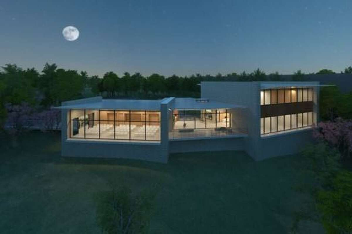 Conceptual rendering of The Center for Glenwood designed by Dillon Kyle Architects.