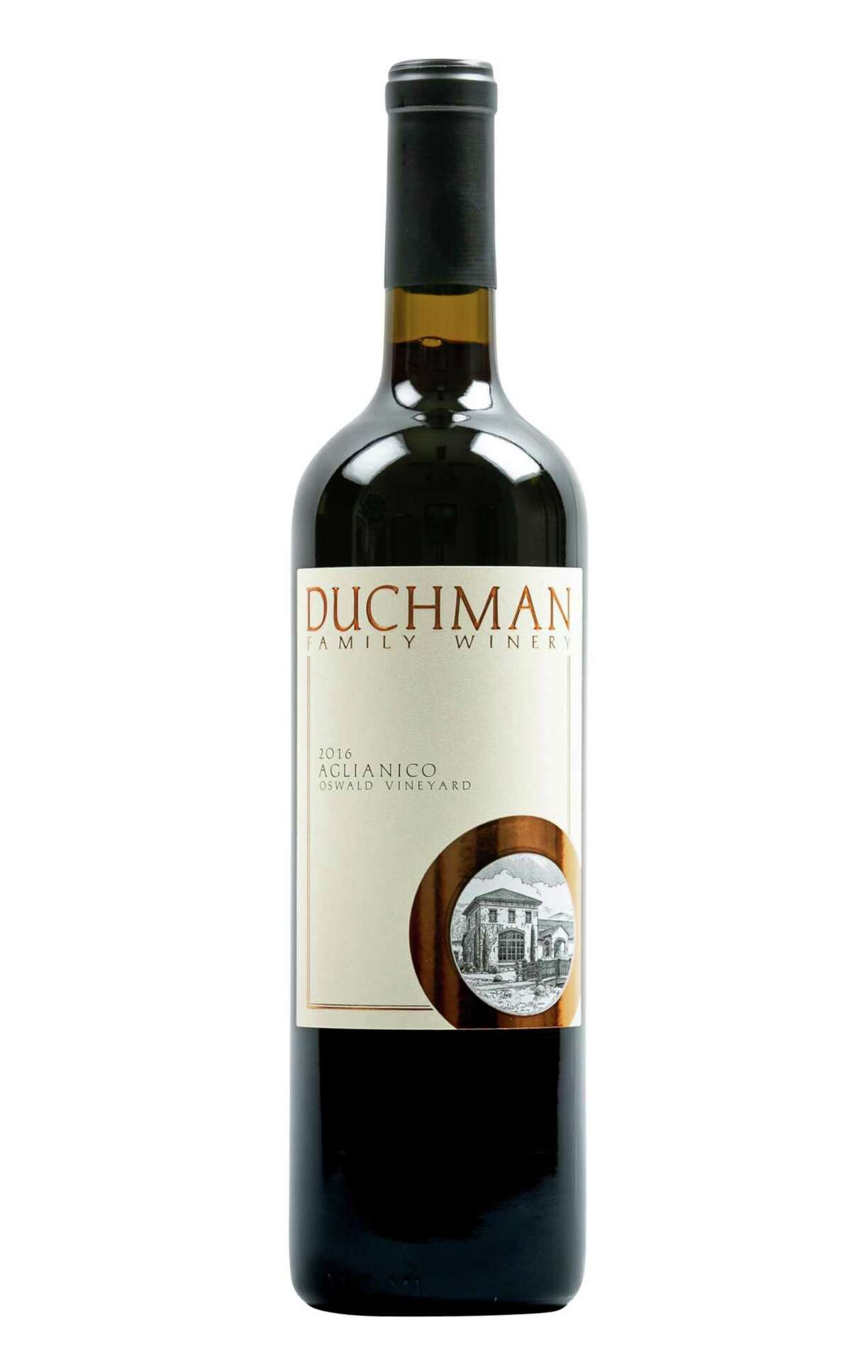 2016 Duchman Family Winery Texas Aglianico, Oswald Vineyard