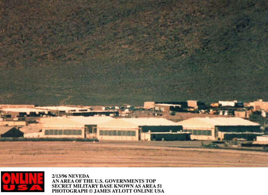 The existence of Area 51 was not officially confirmed by the US Government for more than a half-century after it was founded Photo: James Aylott / Getty Images / Hulton Archive
