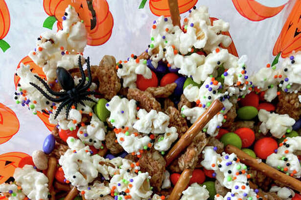 A spooktacular popcorn mix prepared just in time for Halloween. For the Intelligencer