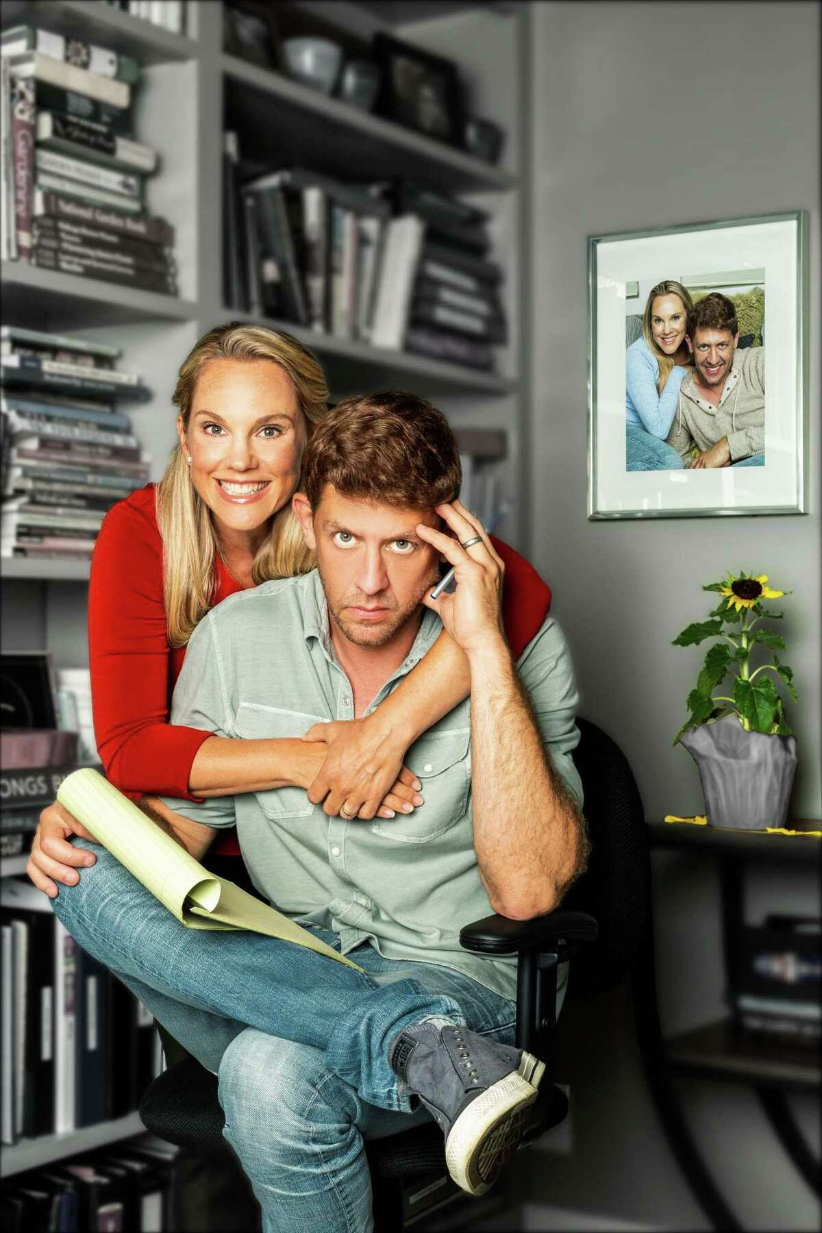 """Katie Diamond and Daniel C. Levine star in """"The Last Five Years"""" at A Contemporary Theatre of Connecticut in Ridgefield."""