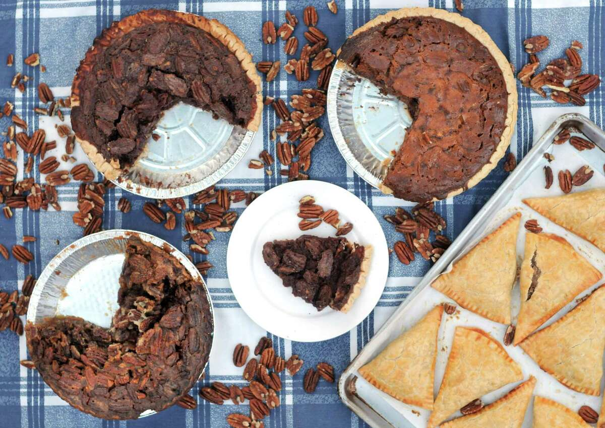 This week we're celebrating the Texas pecan season with a variety of pecan pies.