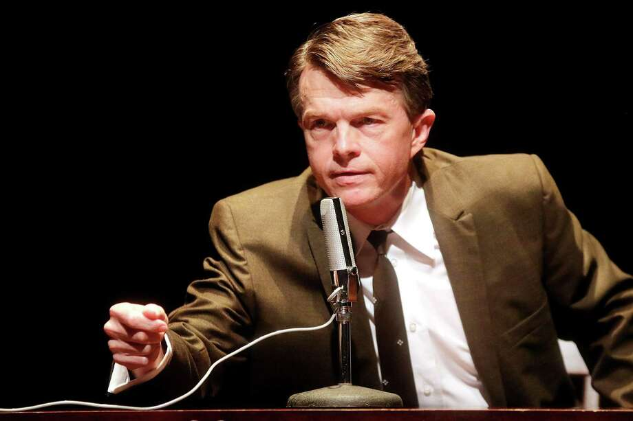 Joel Sandel in 'RFK: A Portrait of the Life of Robert F. Kennedy' at Main Street Theater Photo: Pin Lim/Forest Photography / Copyright Forest Photography, 2015.