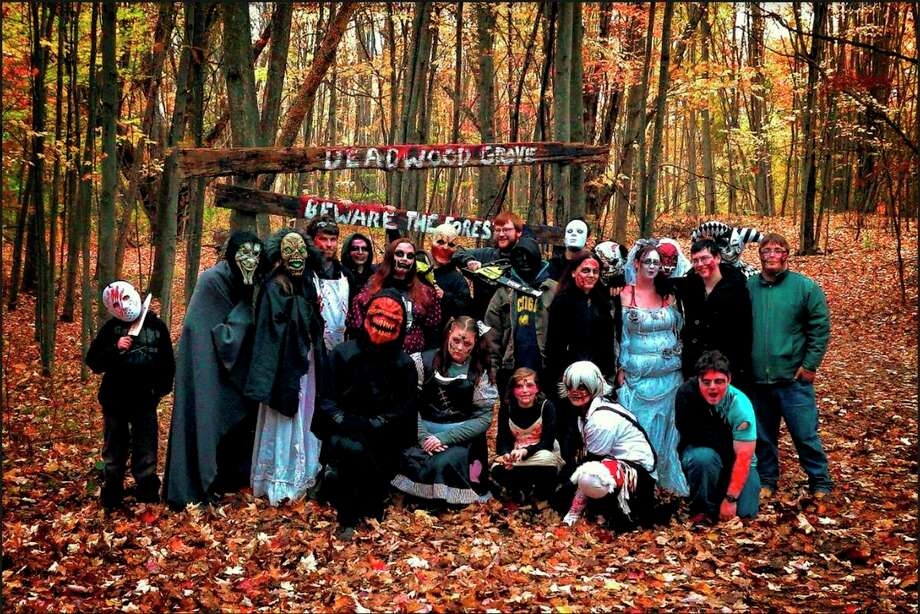 Oct. 23-24, 30-31: The Deadwood Grove Haunted Forest, spooky haunted trails, will be open 7 to 10 p.m. on the last three Fridays and Saturdays in October at Mid Michigan College's Harrison Campus. (Photo provided/Mid Michigan College)