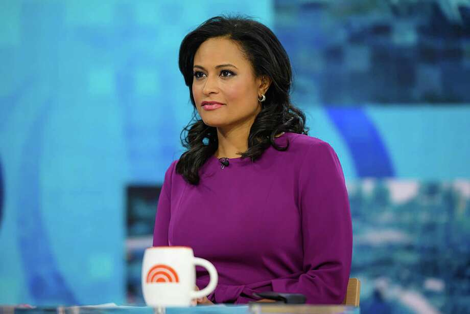 """Kristen Welker on the """"Today"""" show in January. Photo: Nathan Congleton/NBC / 2020 NBCUniversal Media, LLC."""