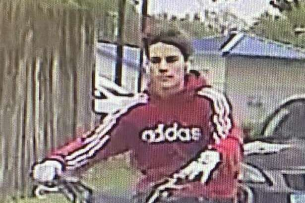 South Roxana Police have released photos of a man sought for allegedly operating a motorcycle recklessly Monday near Roxana High School.