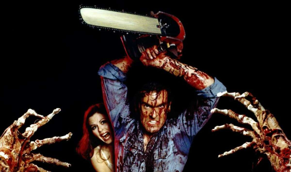 """Bruce Cambell played an everyday guy who refused to die in Sam Raimi's cult horror film """"Evil Dead."""""""
