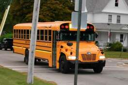 In honor of Nation School Bus Safety Week, which runs Oct. 19-23, law enforcement officers throughout Michigan are ramping up patrols of motorists illegally passing school buses as part of Operation Safe Stop. (File photo)