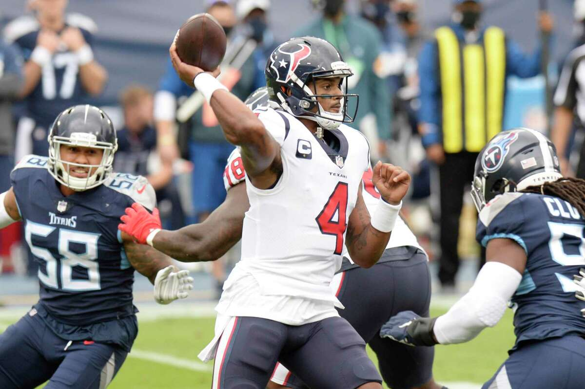 Deshaun Watson has thrown for 694 yards and seven touchdowns in two games under interim head coach Romeo Crennel.