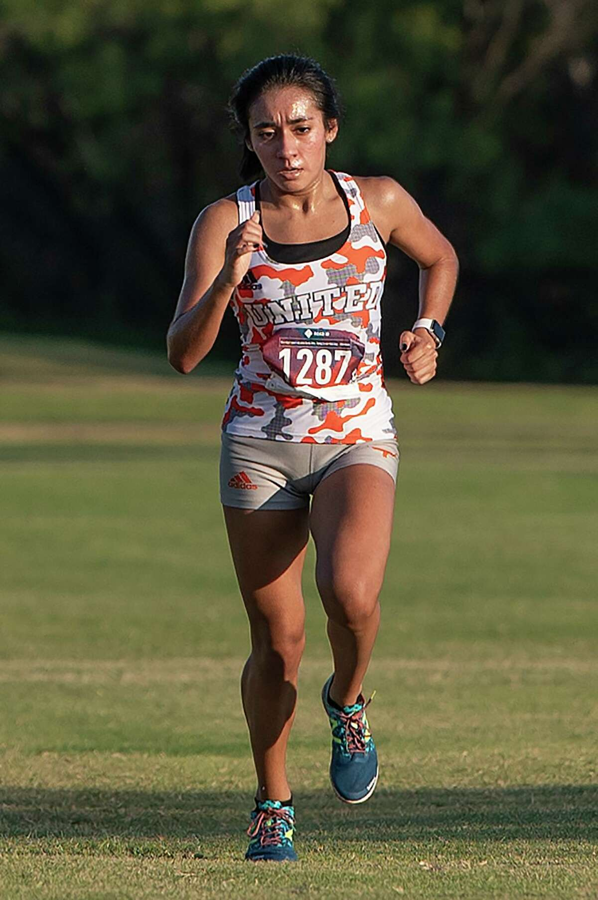 United's Valerie Garcia has won each of the three meets she has competed in to start her senior season.