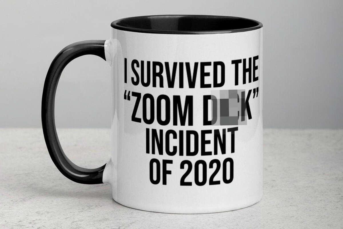 Zoom D**k Incident 2020 Mug