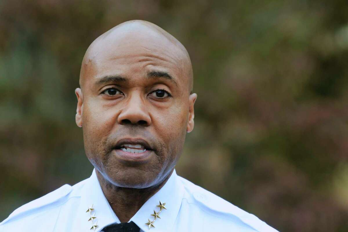 Albany Police Chief Eric Hawkins. (Paul Buckowski/Times Union)
