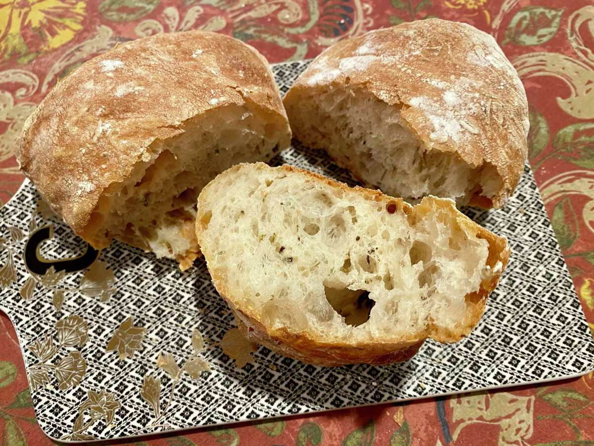 Baking fresh ciabatta takes a bit of time, but it is worth the wait.