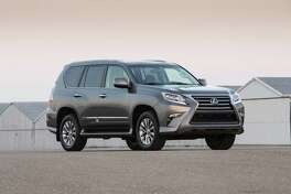The Lexus GX460 is a rugged luxury sport-utility vehicle.
